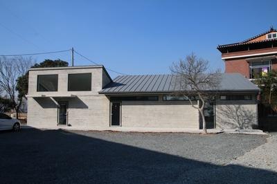 복자 구한선 타대오 순교성지가 조성된 대산 성당 입구의 안내센터(어머니 쉼터).