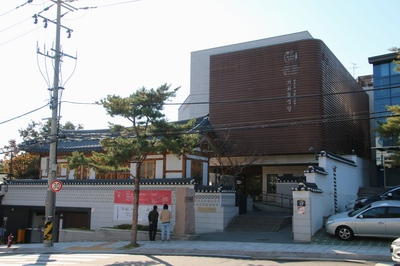 2014년 부활 대축일에 봉헌한 새 성당 외부.