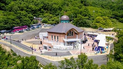 2017년 5월 축복식을 거행한 진목정 순교자 기념성당.