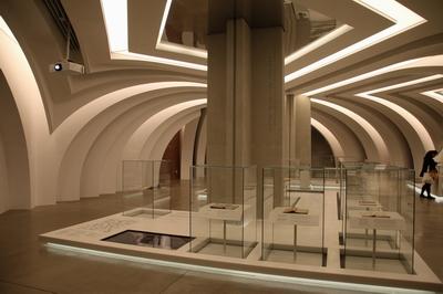 2019년 6월 개관한 서소문성지 역사박물관 내 상설전시실 모습.